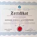München Hypnose Zertfikat Dr. Preetz