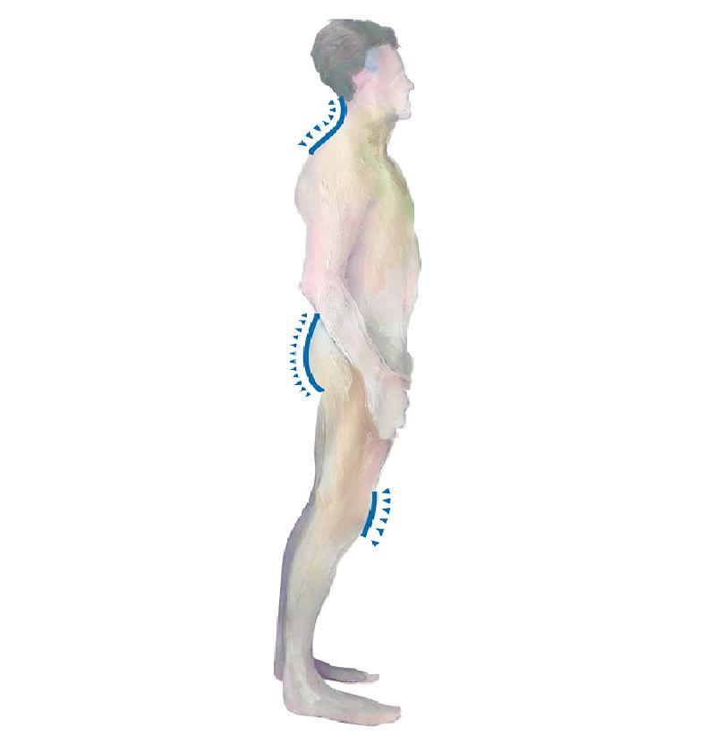 Stress Verspannungen Schmerzen Rückenschmerzen
